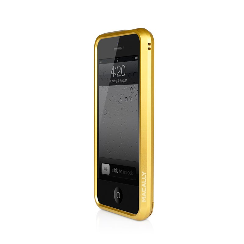 Macally Aluminium Frame iPhone 5 (Gold) 08