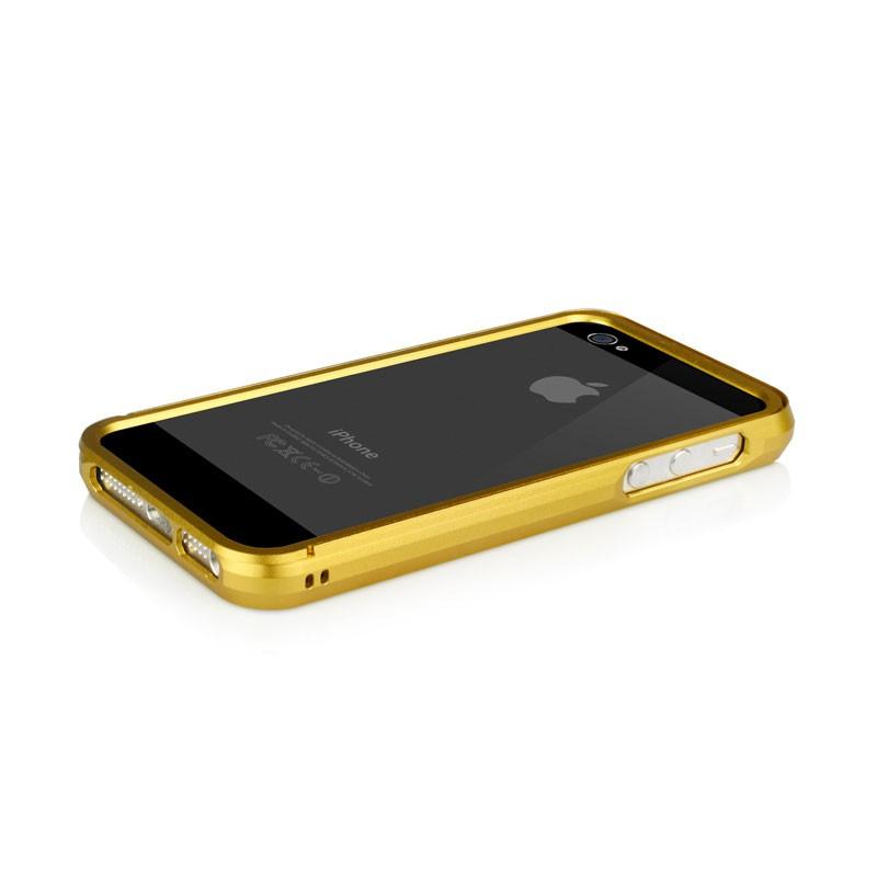 Macally Aluminium Frame iPhone 5 (Gold) 09