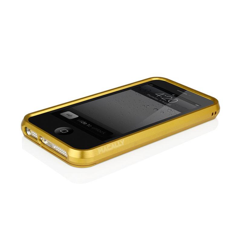 Macally Aluminium Frame iPhone 5 (Gold) 10
