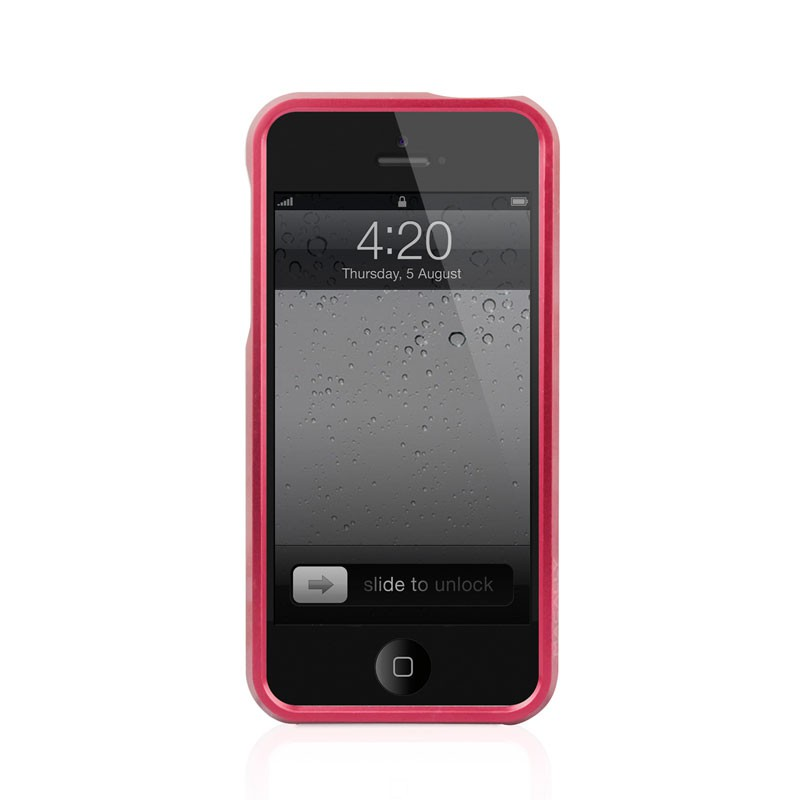 Macally Aluminium Frame iPhone 5 (Red) 03