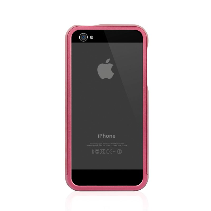 Macally Aluminium Frame iPhone 5 (Red) 04