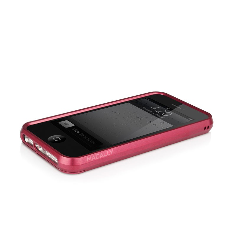 Macally Aluminium Frame iPhone 5 (Red) 09