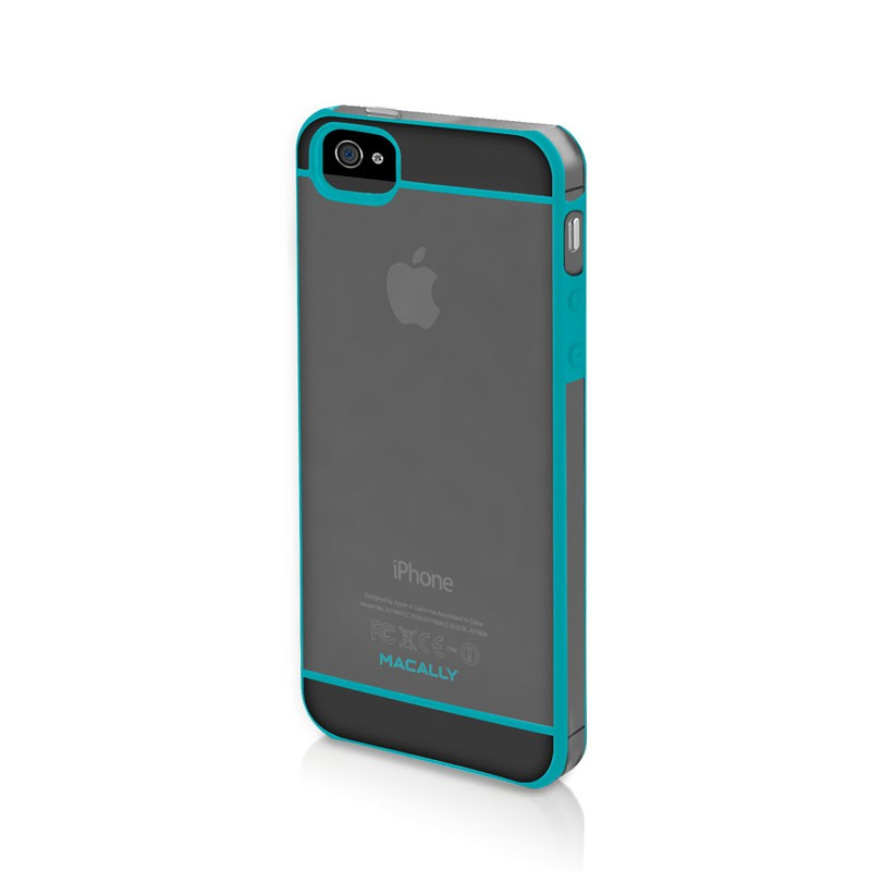 Macally Curve Case iPhone 5 (Turquoise) 01