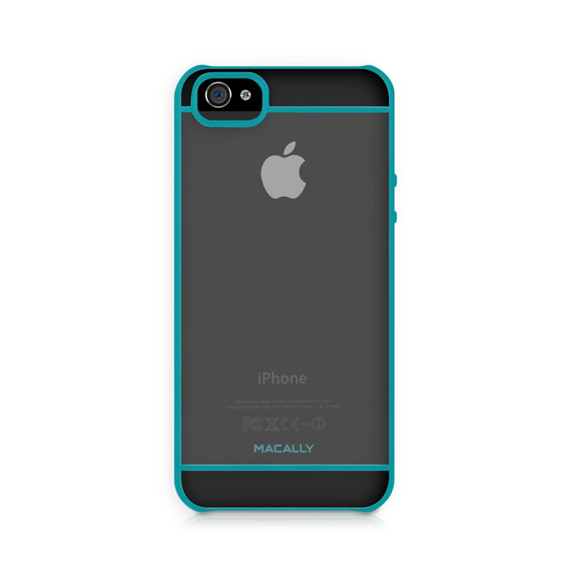 Macally Curve Case iPhone 5 (Turquoise) 02