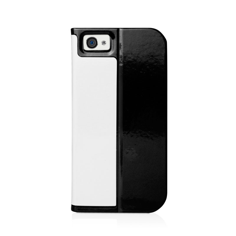Macally Slim Folio Case iPhone 5 (White) 02