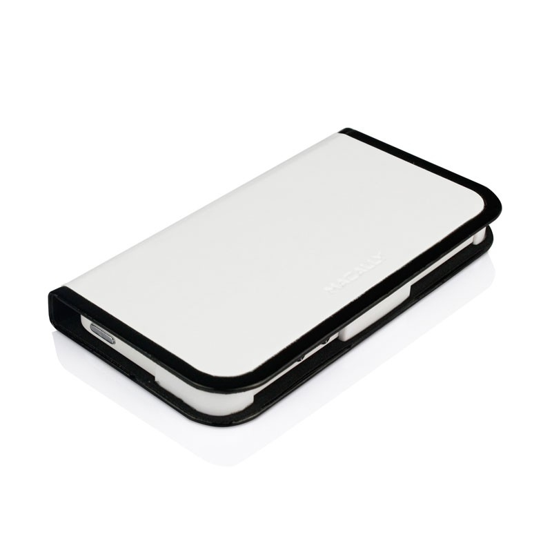 Macally Slim Folio Case iPhone 5 (White) 03