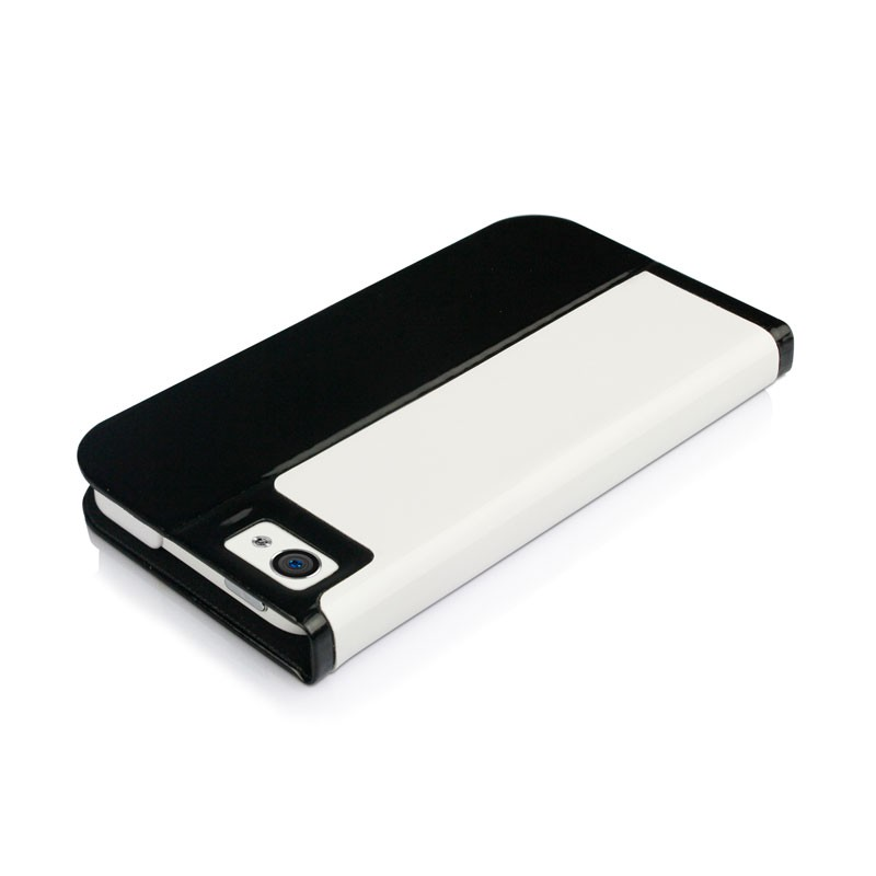 Macally Slim Folio Case iPhone 5 (White) 04