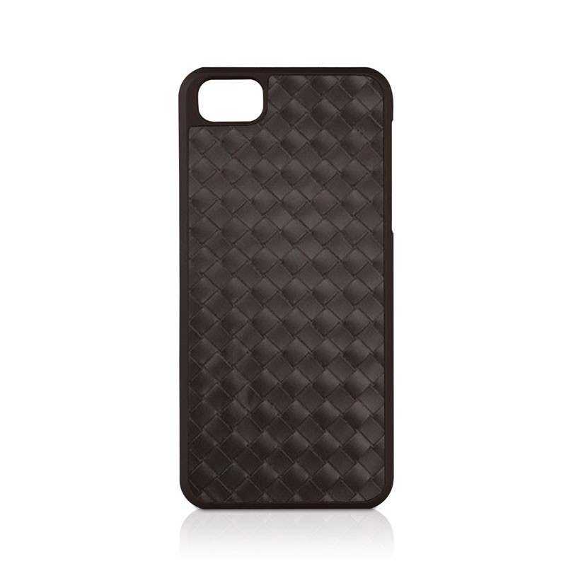 Macally - Weave iPhone 5 (Brown) 01