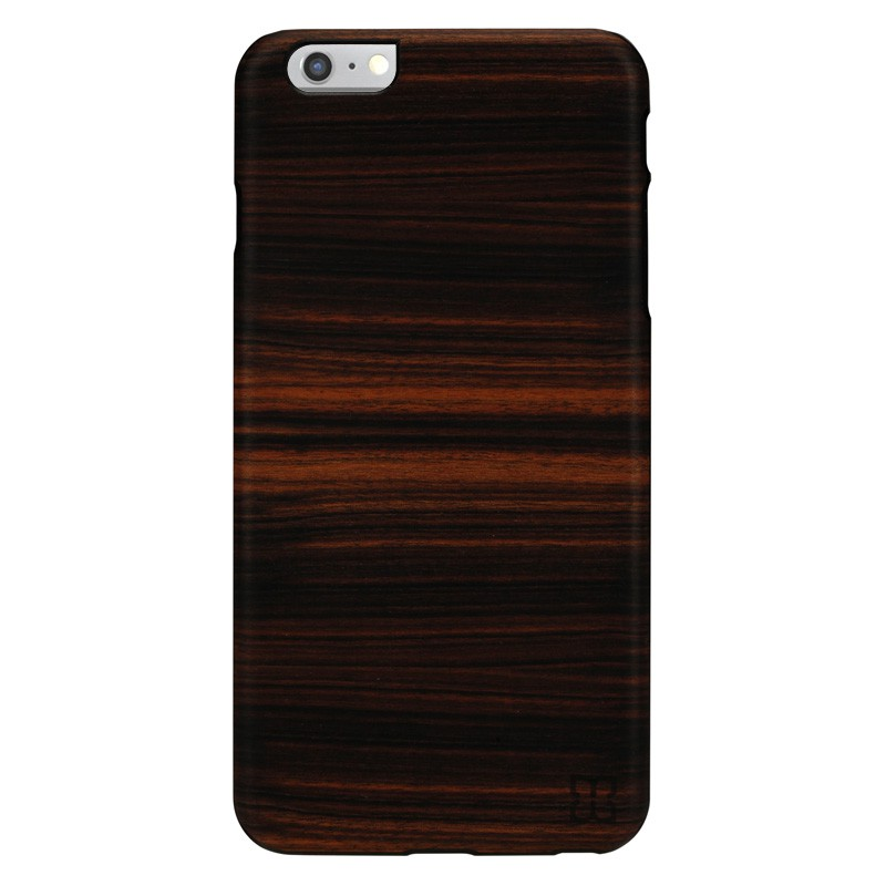 Man & Wood Houten Back Case Eboni iPhone 6 Plus / 6S Plus - 1