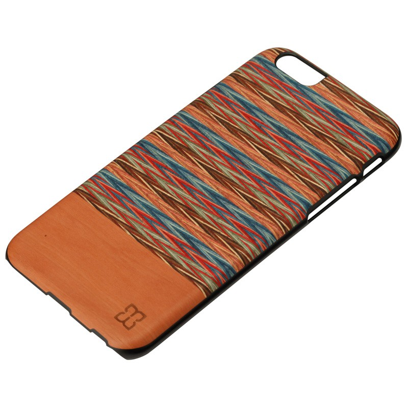Man & Wood Houten Back Case Browny Check iPhone 6 / 6S - 2