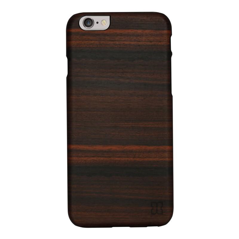 Man & Wood Houten Back Case Eboni iPhone 6 / 6S - 1