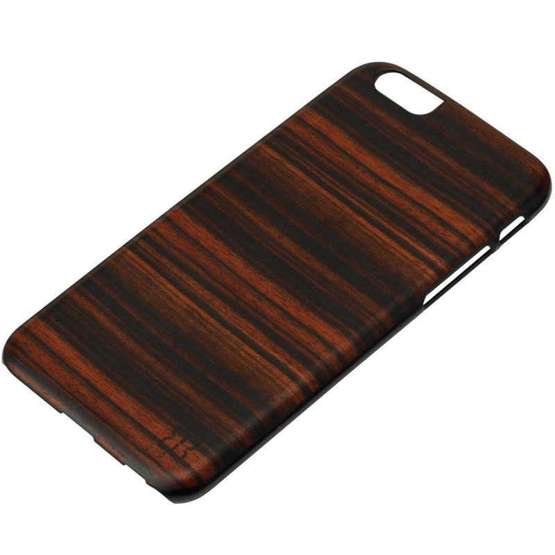 Man & Wood Houten Back Case Eboni iPhone 6 / 6S - 2