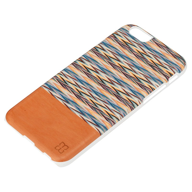 Man & Wood Houten Back Case Peroa Check iPhone 6 / 6S - 2