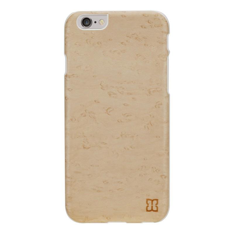 Man & Wood Houten Back Case Snowy Birds Eye iPhone 6 / 6S - 1