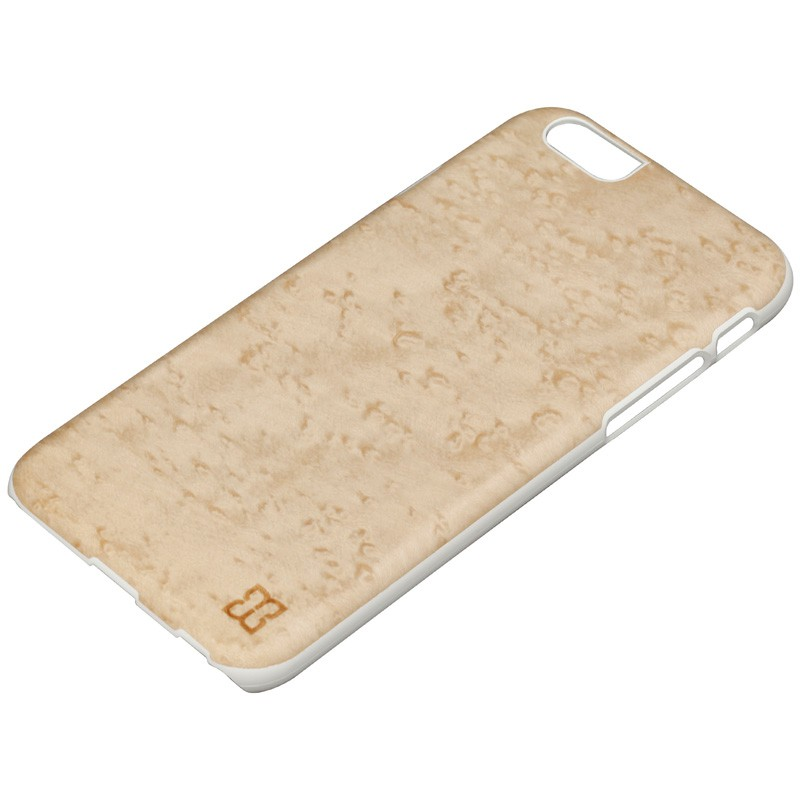Man & Wood Houten Back Case Snowy Birds Eye iPhone 6 / 6S - 2