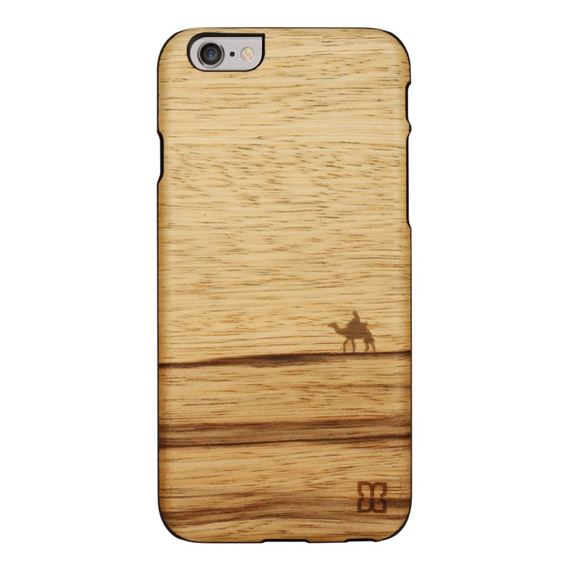 Man & Wood Houten Back Case Terra iPhone 6 / 6S - 1