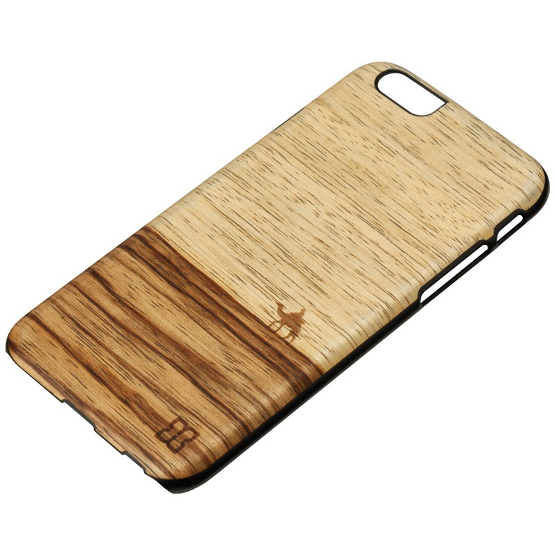 Man & Wood Houten Back Case Terra iPhone 6 / 6S - 2