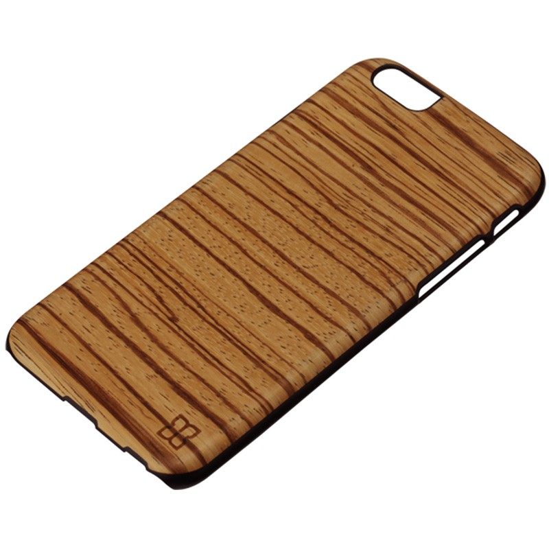 Man & Wood Houten Back Case Zebrano iPhone 6 / 6S - 2