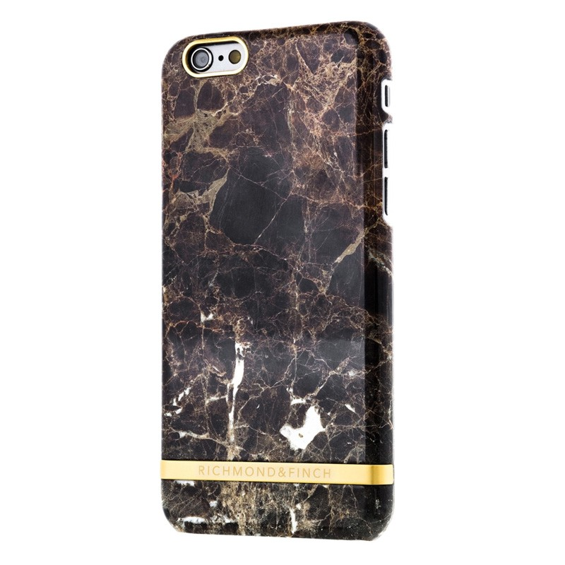 Richmond & Finch Marble Glossy iPhone 6 / 6S Brown - 2