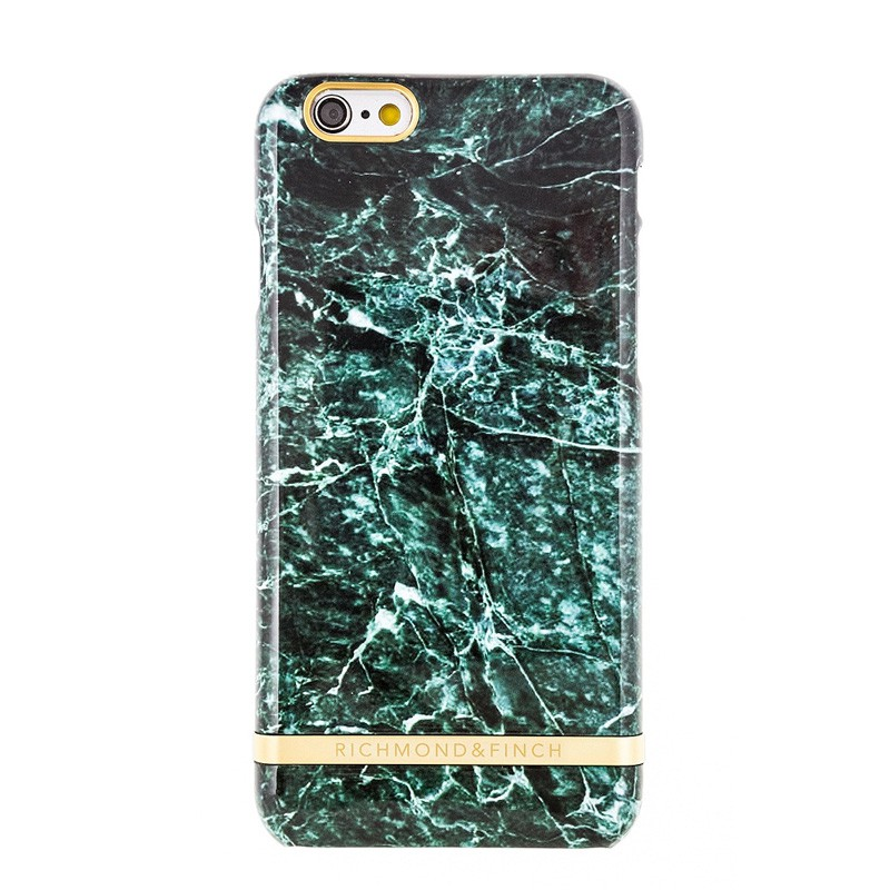 Richmond & Finch Marble Glossy iPhone 6 / 6S Green - 1