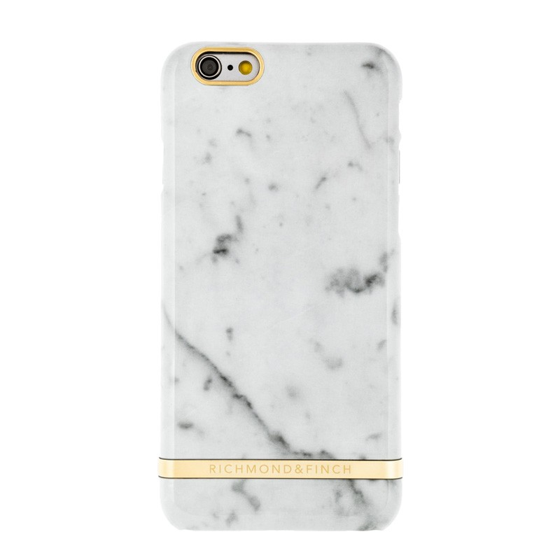 Richmond & Finch Marble Glossy iPhone 6 / 6S White - 1