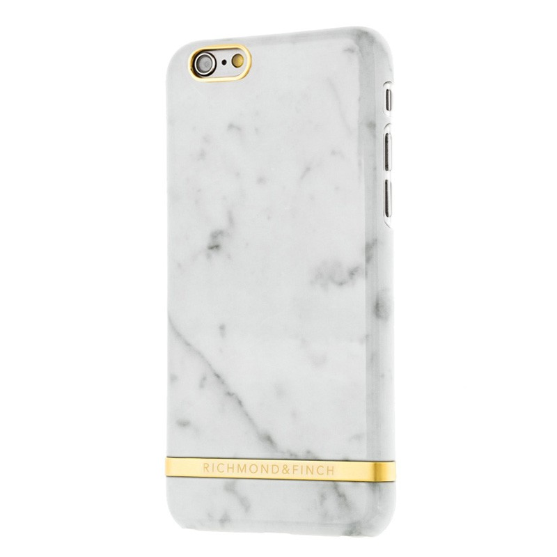 Richmond & Finch Marble Glossy iPhone 6 / 6S White - 2
