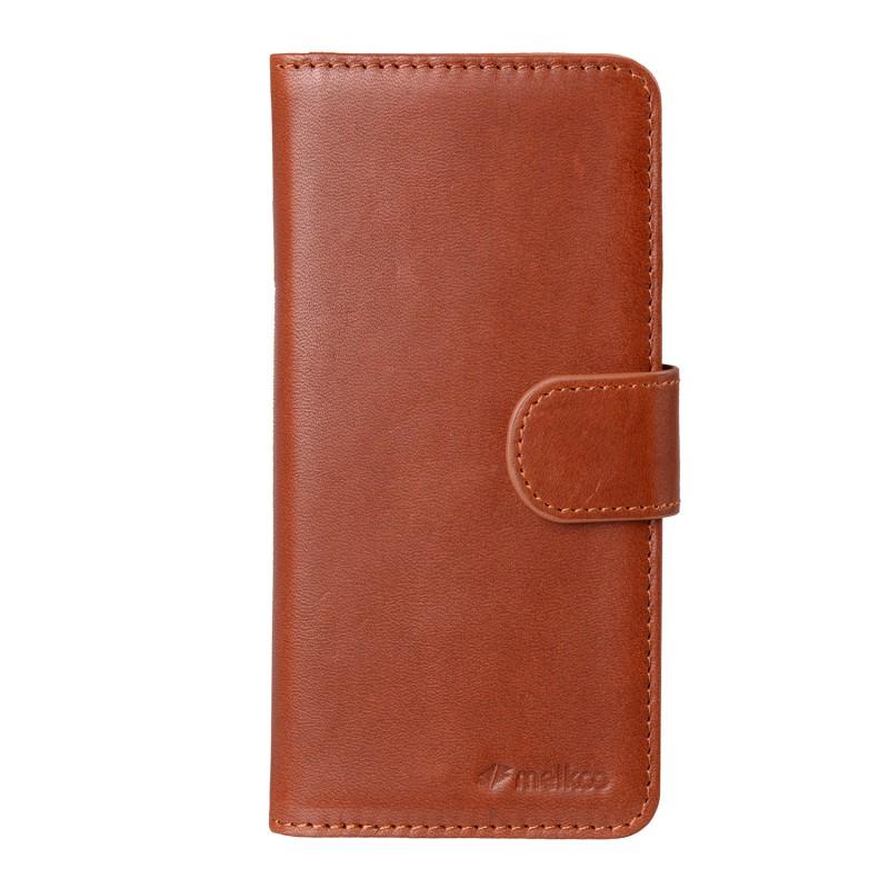 Mekco Alphard Wallet Case iPhone 6/6S Tan Brown - 1