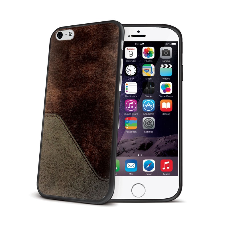 Celly Mixcover iPhone 6 Brown