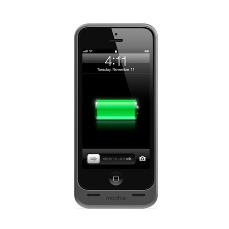 mophie juice pack helium iPhone 5 Black - 1