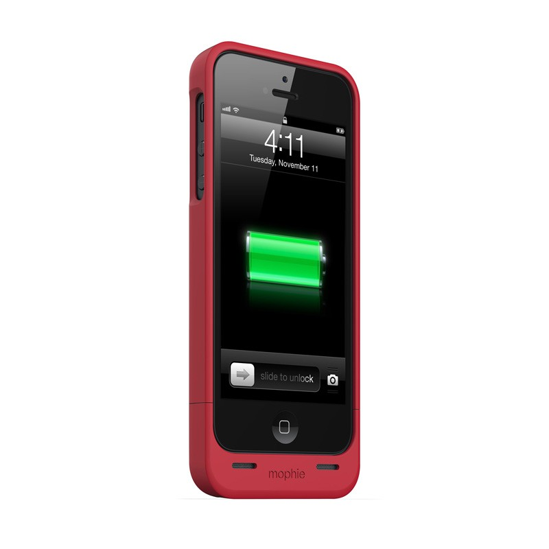 mophie juice pack helium iPhone 5 Red