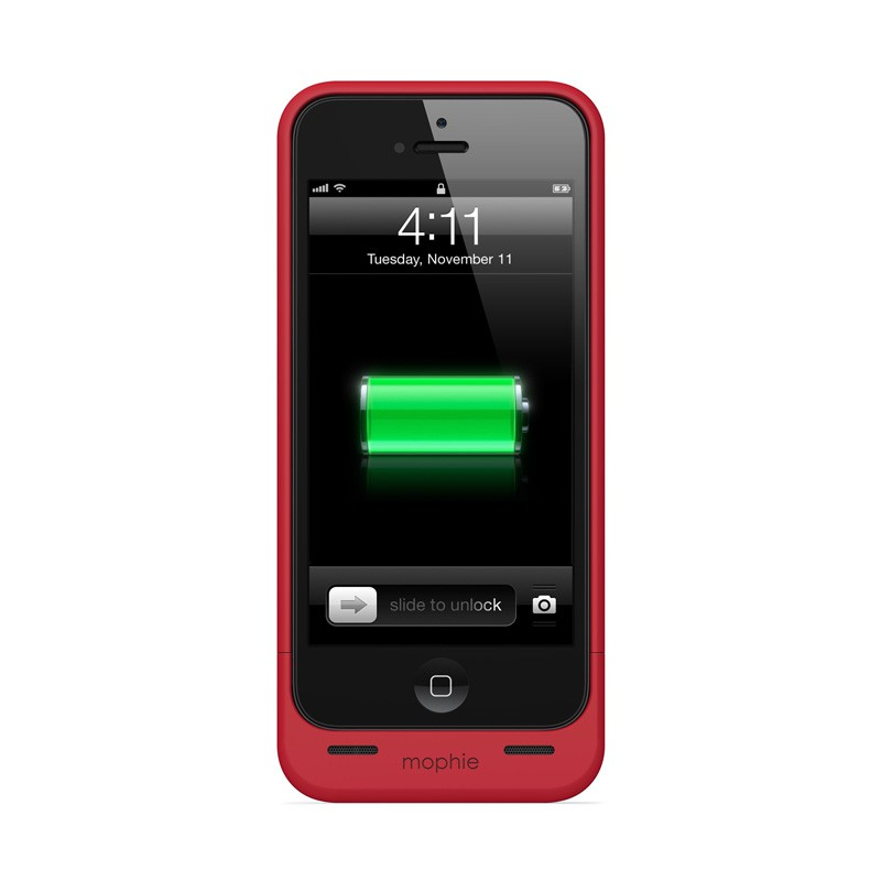 mophie juice pack helium iPhone 5 Red - 2