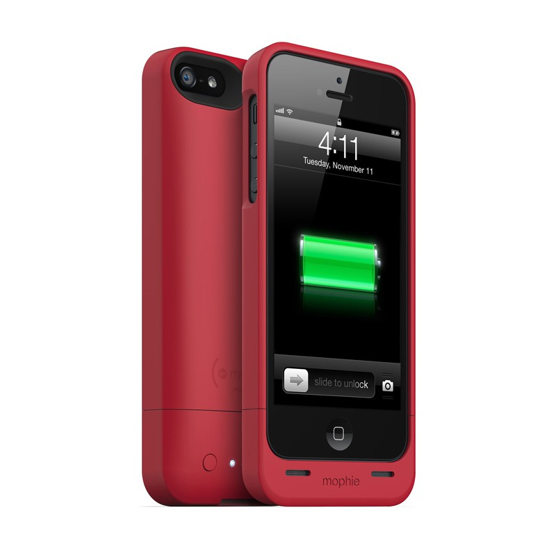mophie juice pack helium iPhone 5 Red - 4