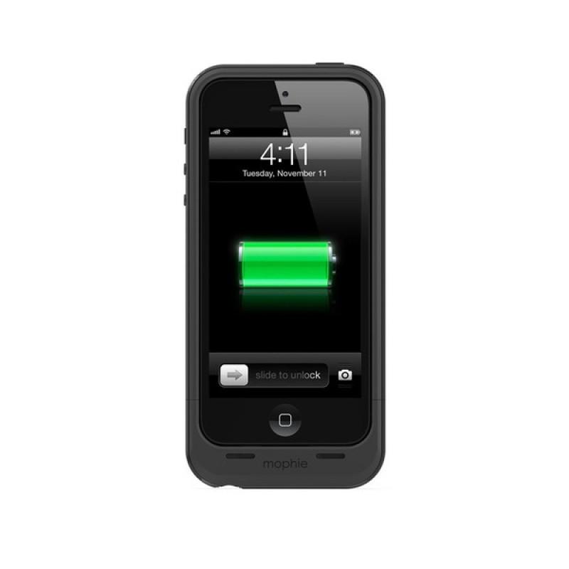 mophie juice pack plus iPhone 5 Black - 4
