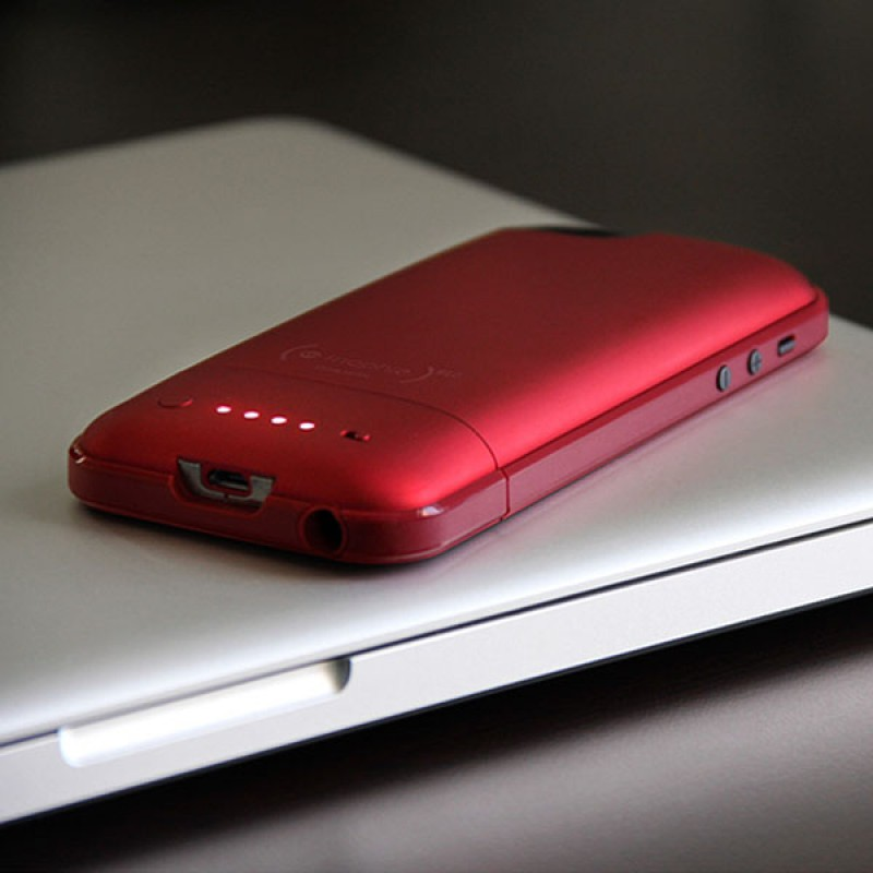 mophie juice pack plus iphone 5 (RED) - 6