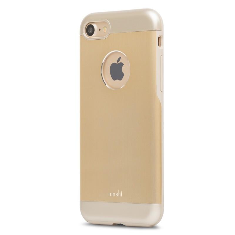 Moshi iGlaze Armour iPhone 7 Satin Gold - 3
