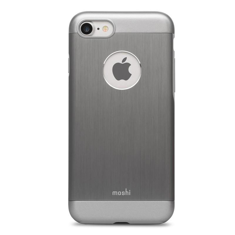 Moshi iGlaze Armour iPhone 7 Gunmetal Grey - 1