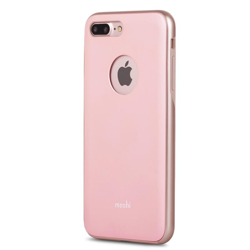 Moshi iGlaze Napa iPhone 7 Plus Blush Pink - 2