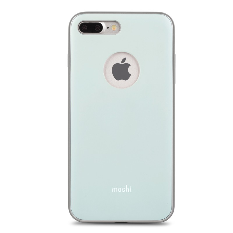 Moshi iGlaze Napa iPhone 7 Plus Powder Blue - 1