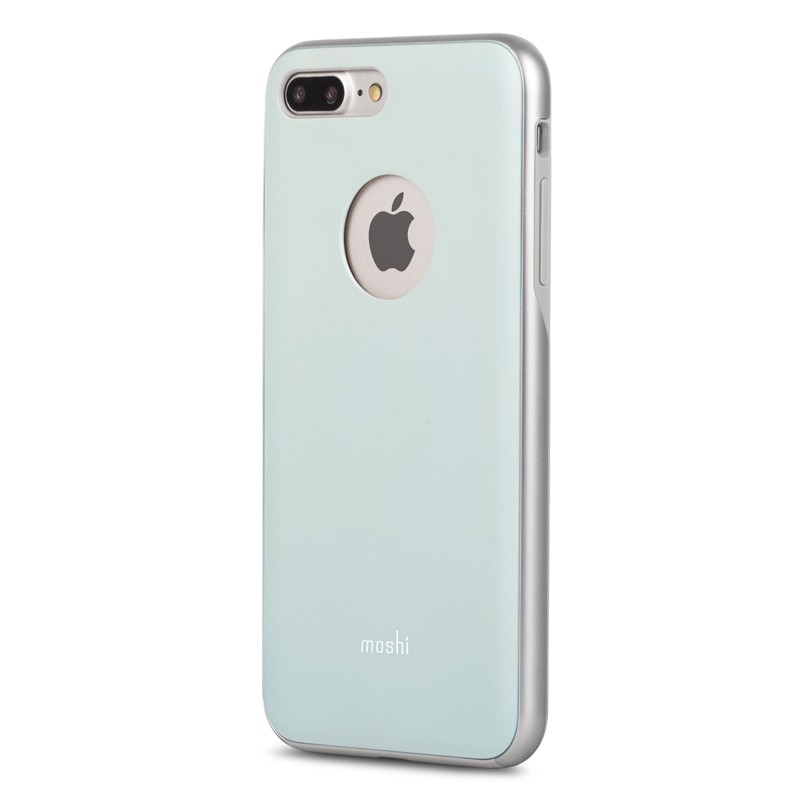 Moshi iGlaze Napa iPhone 7 Plus Powder Blue - 2