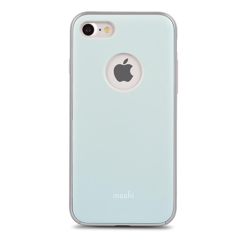 Moshi iGlaze Napa iPhone 7 Powder Blue - 1