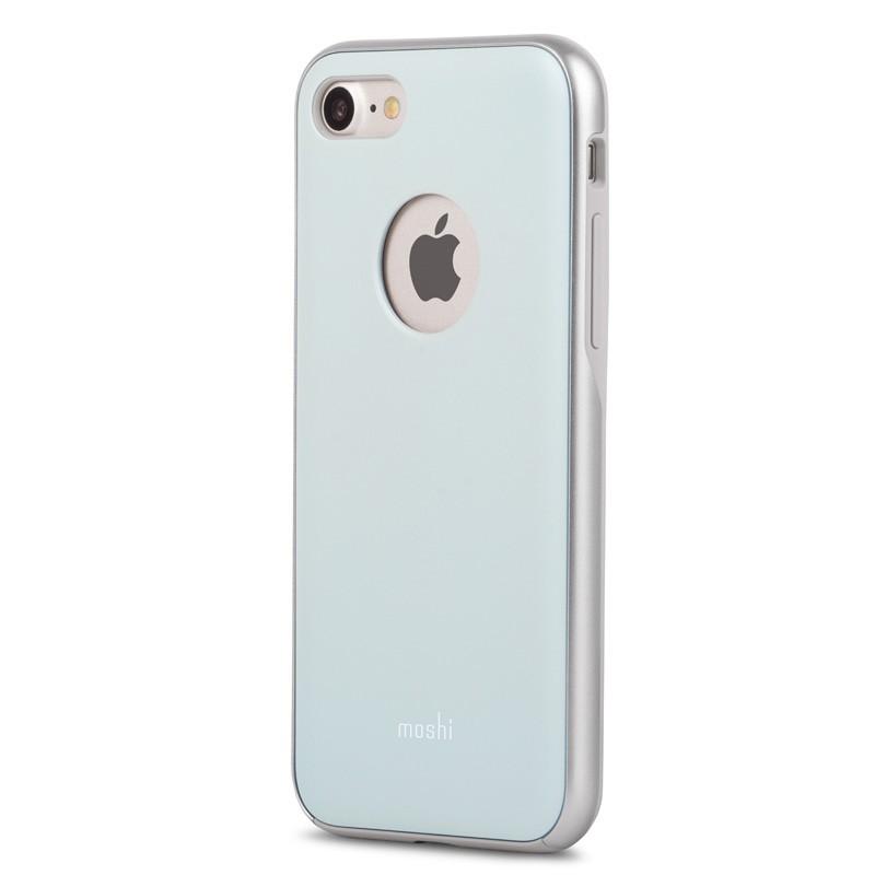 Moshi iGlaze Napa iPhone 7 Powder Blue - 2
