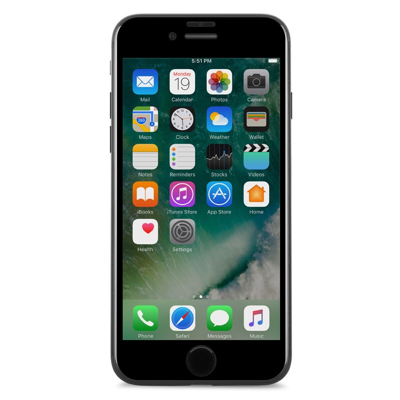 Moshi IonGlass iPhone 6/6S/7  Black - 4