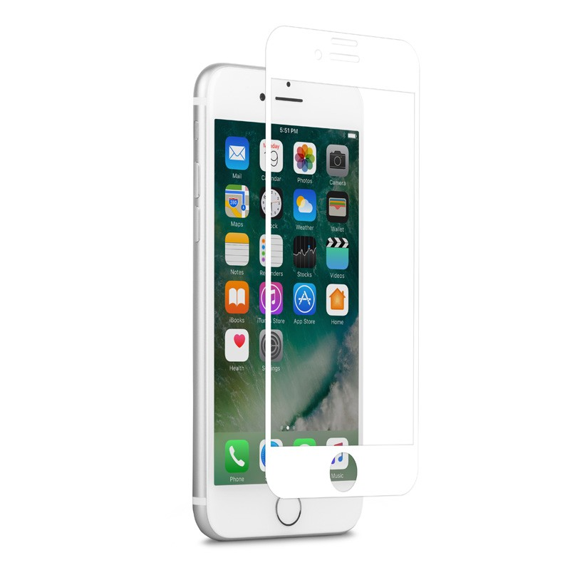 Moshi IonGlass iPhone 6/6S/7 White - 3