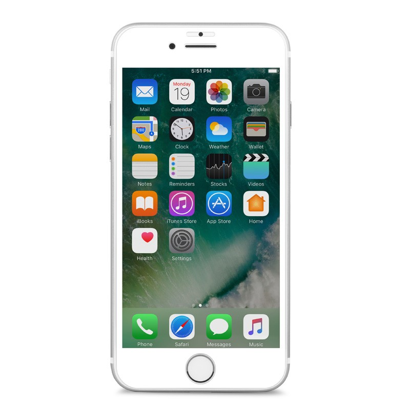 Moshi IonGlass iPhone 6/6S/7 White - 4