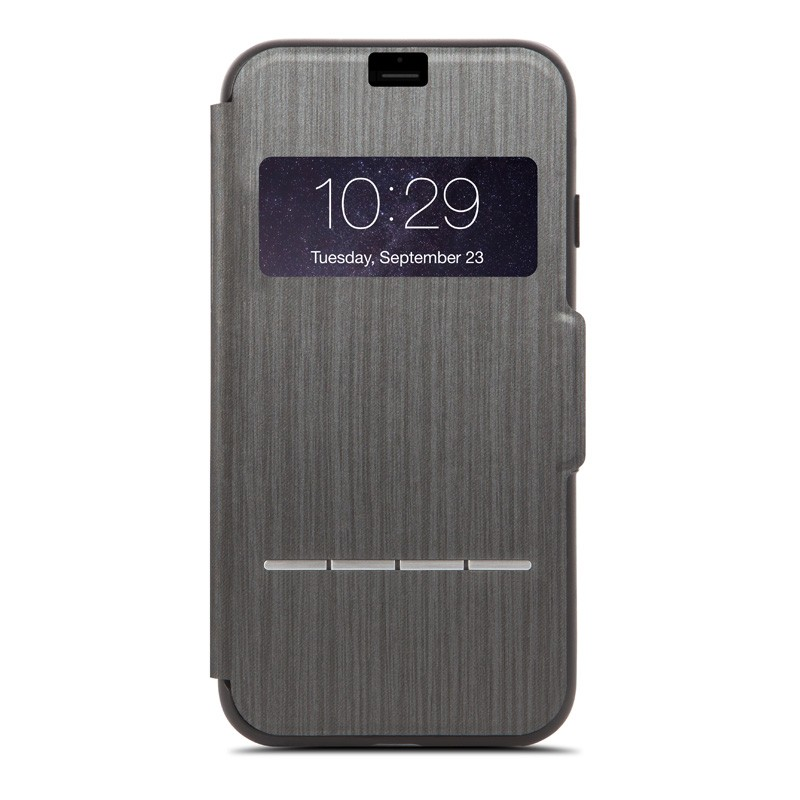 Moshi SenseCover iPhone 7 Plus Charcoal Black  - 1