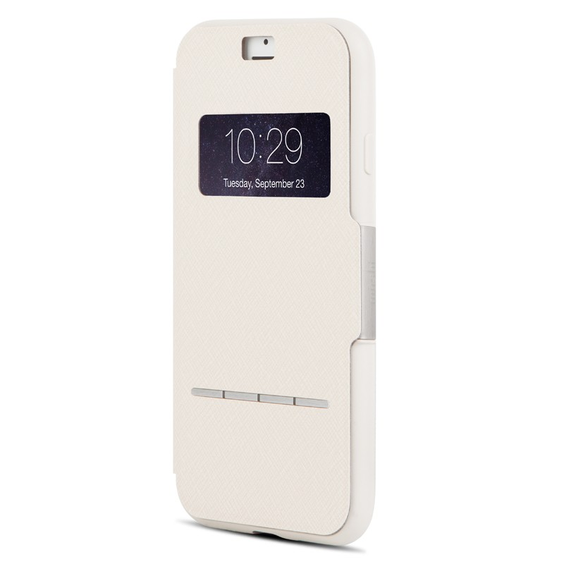 Moshi SenseCover iPhone 7 Plus Stone White  - 2