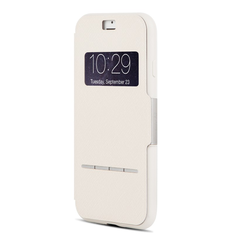 Moshi SenseCover iPhone 7 Stone White - 2