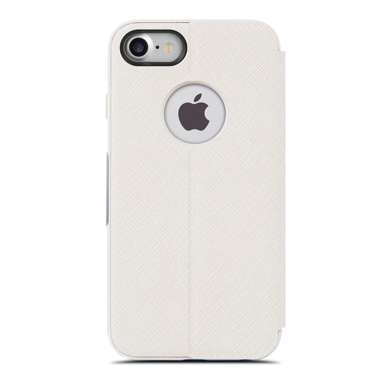 Moshi SenseCover iPhone 7 Stone White - 4