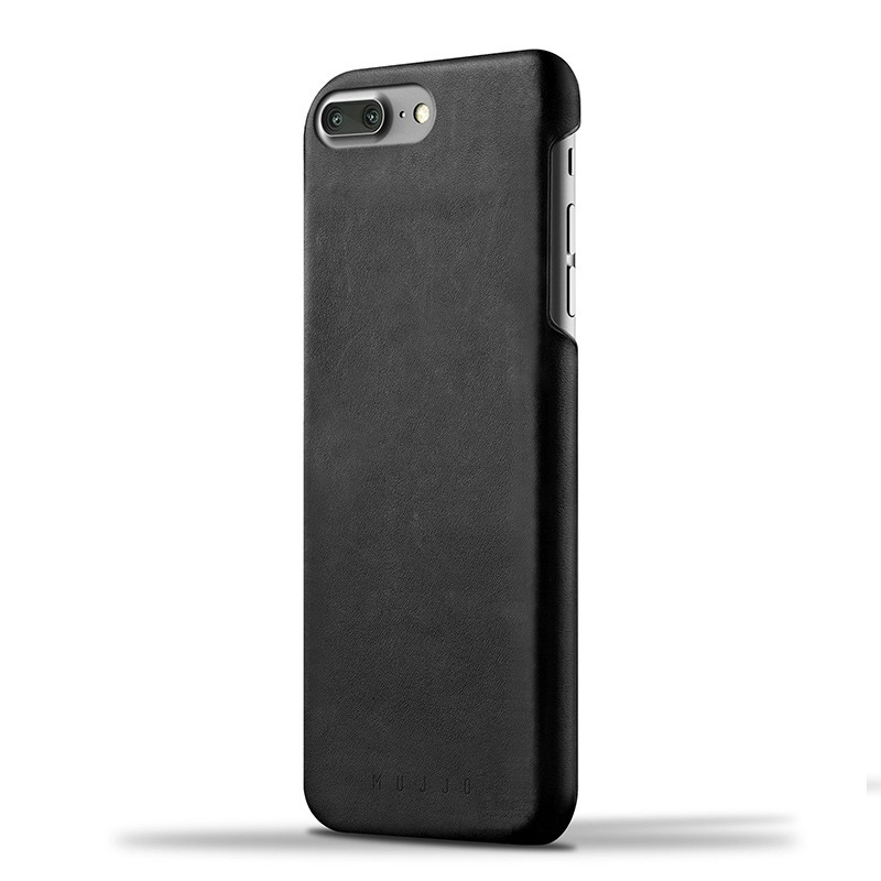 Mujjo Leather Case iPhone 7 Plus Black 01