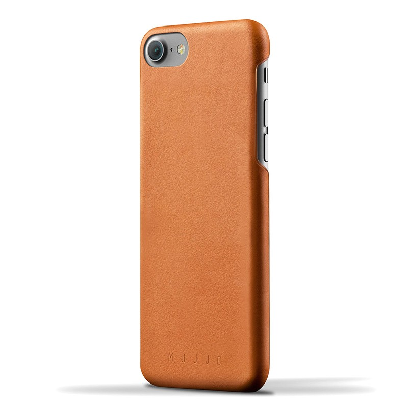 Mujjo Leather Case iPhone 7 Tan 01